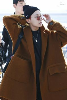 Hobi at Incheon Airport