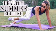 MY HEALTHY SUMMER ROUTINE! WORKOUT ROUTINE, WHAT I EAT + SKINCARE | ALEXANDREA GARZA  #AlexGarza #alexgarzaskincare #AlexandreaGarza #athomeabsworkout #bestathomeworkout #bestmorningroutine #bestskincareroutine #dryskin #GetReadyWithMe #GRWM #healthy #healthybreakfast #healthydinner #HealthyMorningRoutine #howtoloseweight #hydratedskin #Luxury #Morningroutine #morningroutineforgirls...