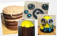 Minion-Kuchen Schritt für Schritt nachbacken - Wow! Beim Anblick dieses Kunstwerks bleibt euren Gästen sicher der Mund vor lauter Staunen offen stehen. Der Minion-Kuchen sieht aus wie echt. Als wäre der kleine gelbe Winzling direkt aus dem Film entstiegen...