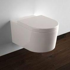 WC suspendu Orba Blanc + Abattant