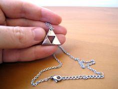 Legend of Zelda Triforce - Polished Stainless Steel.