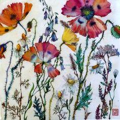 Botanical Wonders. Watercolor & Pen. Sofia Perina-Miller
