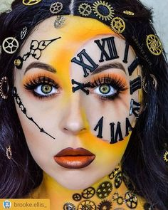 """Very comfortable and amazing color"" - stephanie b. Dope Makeup, Cool Makeup Looks, Sfx Makeup, Cosplay Makeup, Makeup Inspo, Makeup Art, Makeup Inspiration, Cool Halloween Makeup, Halloween Party"