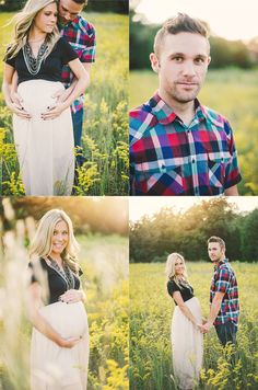 Krista and Jason– {Creative North Carolina Maternity Photography}