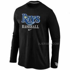 http://www.xjersey.com/tampa-bay-rays-long-sleeve-tshirt-black.html Only$30.00 TAMPA BAY RAYS LONG SLEEVE T-SHIRT BLACK Free Shipping!