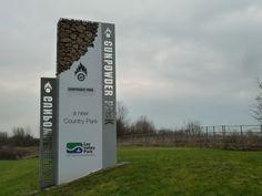 Gunpowder Park Walking Route