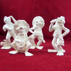 Ready To Paint Ceramic Bisque Flower Baby Ceramics