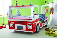 Tolles Kinderbett, Feuerwehr-Bett,  direkt hier bestellen