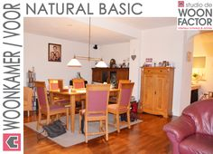 De situatie in de woonkamer voordat het interieurontwerp/advies van studio de WOON FACTOR is uitgevoerd.