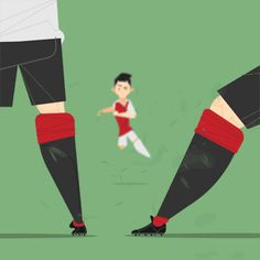 Stars of the Premier League Vector Animation, Pixel Animation, Sports Gif, European Football, Arsenal Fc, Manchester City, Olympic Games, Espn, Soccer