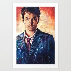 The Time Lord Art Print by Alice X. Zhang - $15.00