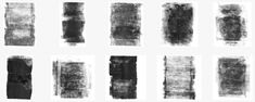 Free Hi-Res Rolled Paint Photoshop Brush Set 1 Preview