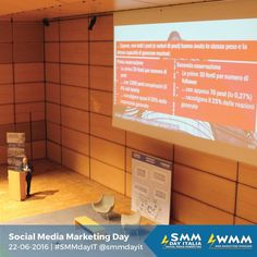 Alcuni scatti delle prime 4 sessioni di #SMMdayIT 2016 #follow #socialteam #social #socialmedia #webmarketing #digitalcommunication #digital