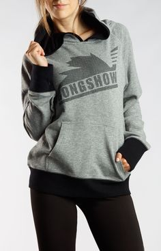 Moving Up Grey Gongshow Womens Hockey Sweater | GONGSHOW Hockey Lifestyle Apparel