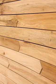BP's Office Wood Wall Design