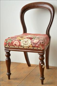 Antique-mahogany-balloon-back-dining- chair