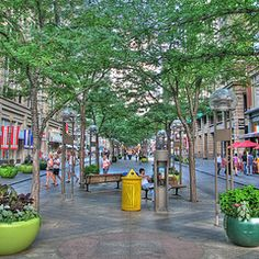 16th Street Mall, Denver,Colorado