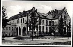 Ak Nesterow Stallupönen Ostpreußen, Krankenhaus, Eingangsseite - 886620