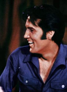 Elvis rehearsing for his N-B-C t-v special in june 1968.