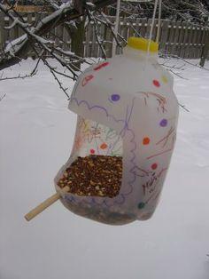 Reusing big plastic water/milk bottles / jugs | Eco Green Love