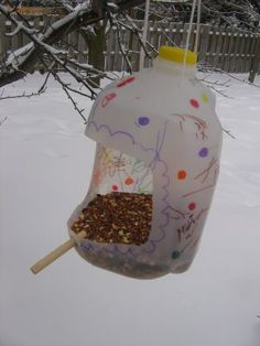 Reusing big plastic water/milk bottles / jugs   Eco Green Love