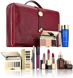 1495aa93d4 Estee Lauder Blockbuster 2017 Holiday Make Up Gift Set w/Train Case -Smoky  Noir - Works as designed and well built.Product features of Estee Lauder ...