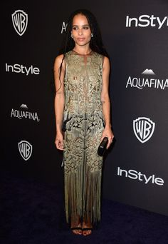 Zoe Kravitz Photos - 2016 InStyle And Warner Bros. 73rd Annual Golden Globe Awards Post-Party - Arrivals - Zimbio