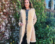 Vintage 70s Authentic Leather Coat