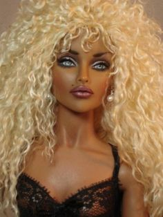 One Of A Kind Dolls Hand Painted by Bordello Doll Artist, Toni Brown Bjd Dolls, Reborn Dolls, Girl Dolls, Fashion Royalty Dolls, Fashion Dolls, Barbie World, Barbie Life, Dream Doll, Valley Of The Dolls