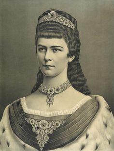 Almanach de Saxe Gotha - HIRM Empress Elisabeth of Austria - Sissi Empress Sissi, The Empress, Romy Schneider, Austria, Impératrice Sissi, Kaiser Franz, Royal Clothing, Elisabeth, Herzog