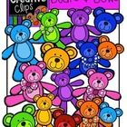This 45-piece set is bursting with happy, colorful bears!! Included are 40 vibrant, colored images and 5 black and white version (not shown in the ...