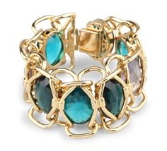 Caged Stones Bracelet for the extra glam factor.
