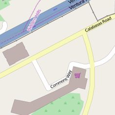 Commons on OSM Calabasas California, Map, Location Map, Maps