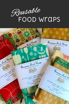 Check out these food wraps - stop using bags and wrap that end up in a landfill after!  Eat all your veggies only uses affiliate links on products we we trust #ad