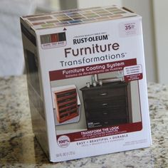 Need to find out if other stores carry this... >> Repaint Furniture with 1 Little Box!!!