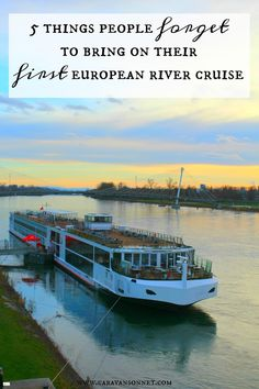 5 Things People Forget to Bring on their First European River Cruise - Travel - German River Cruises, Scenic River Cruises, River Cruises In Europe, Cruise Europe, Cruise Travel, Cruise Vacation, Cruise Tips, Best European River Cruises, Cruises