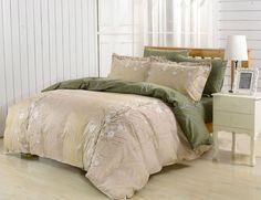Dolce Mela 6pc Duvet Cover FULL QUEEN Bedding Sheet Set Rodos Pattern  #DolceMela