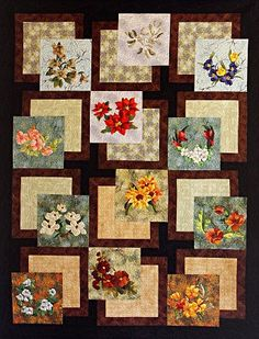 This quilt is made from the BQ quilt pattern from Maple Island Quilts. Great for showing of those special fabrics.