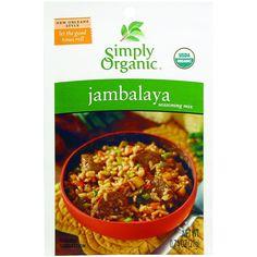 Simply Organic Seasoning Mix - Organic - Jambalaya - .74 oz - Case of 12