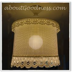 How To Make Unique Lampshade: DIY Tutorial | aboutGoodness.com