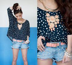 e7d9f3b7d1 Connect the Dots (by Kryz Uy) Short Jeans