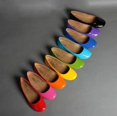 shoe rainbow by Luccia