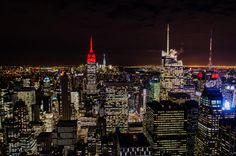 Noga Sadan NYC top of the rock at night from the post http://www.5shekel.com/2016/05/16thingsnyc.html