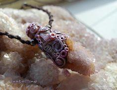 FREE SHIPPING  Spirit Quartz Amethyst Ametrine Clay by InnerMind