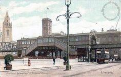 Liverpool, history, liverpool-history-l1-overhead-railway-st-nicholas-church-1903