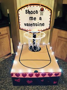 Here's a great #Valentine box for the sports fan in your house!