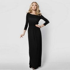 GET $50 NOW | Join RoseGal: Get YOUR $50 NOW!https://www.rosegal.com/long-sleeve-dresses/solid-color-empire-waist-boat-1331942.html?seid=4514413rg1331942