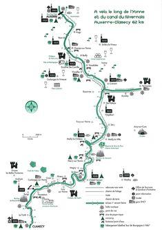 Canal du Nivernais: véloroute d'Auxerre à Clamecy