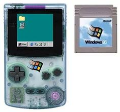flying_gillman: #waporwave #waporware #gameboy #windows95 #gameboy #microobbit
