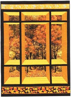 Window on the East Quilt Pattern by Carolyn Startup at Creative Quilt Kits